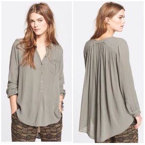 Free People Crinkle Tunic Dress
